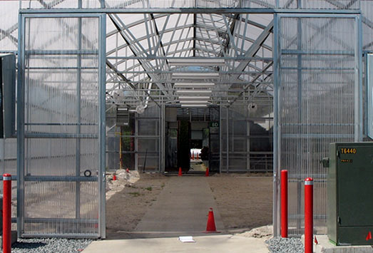 Door Options by Unitied Greenhouse Systems & United Greenhouse Systems - Greenhouse Door Options